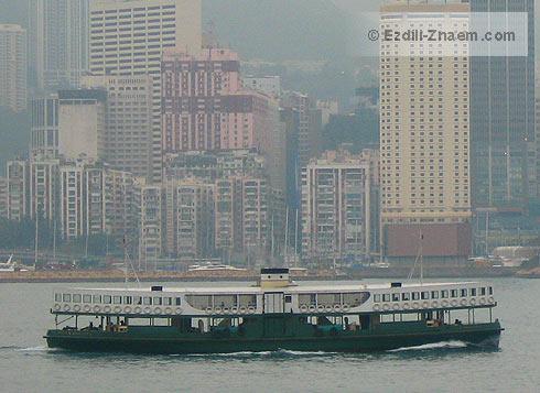 Гонконг: паромы Star Ferry