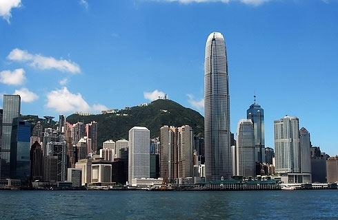 Гонконг. Через залив Виктории на пароме