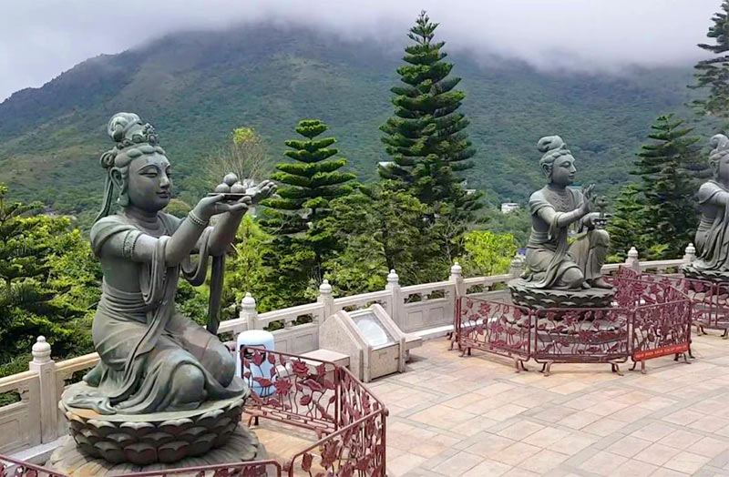 экскурсия к Сидящему Будде. Остров Лантау, Гонконг