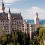 Германия. Белый замок Нойшванштайн
