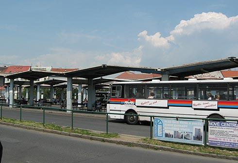 Чехия. автовокзал в Пльзене