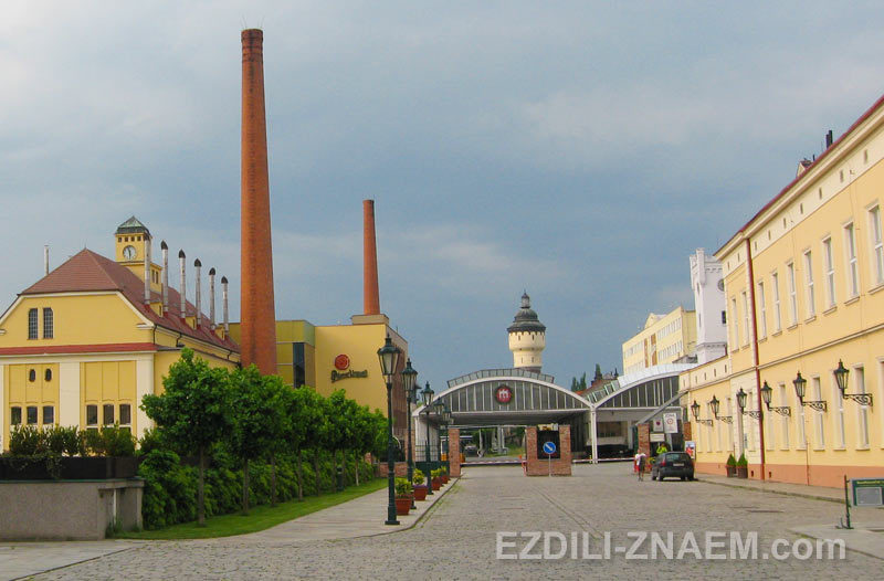 Пивзавод Пилснер в Пльзене, Чехия