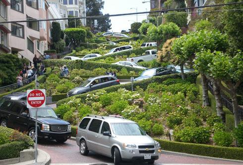 Достопримечательности Сан-Франциско: Улица Ломбард