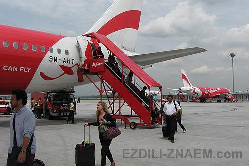 Дешевые перелеты авиакомпанией Air-Asia