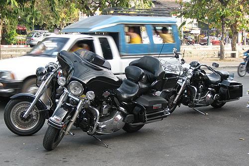 мотоциклисты Чианг Мая