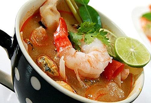 Еда в Тайланде. Том Ям Кун