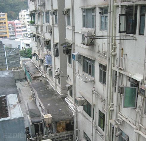 Фото обычных домов Гонконга