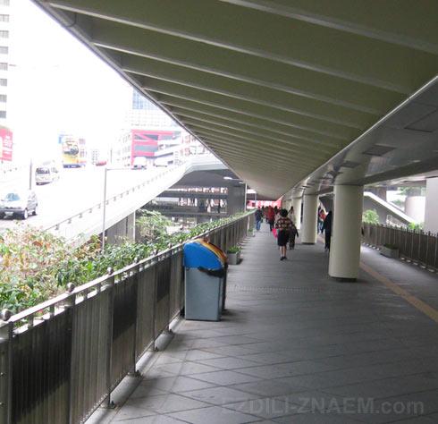 Фото улиц Гонконга