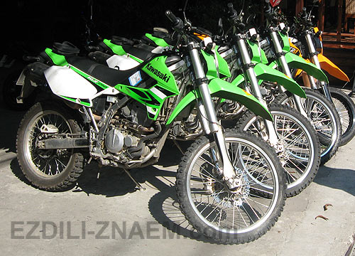 Фото мотоциклов. Кавасаки 250 сс