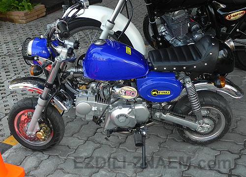 Фото мотоциклов. Городской скутер