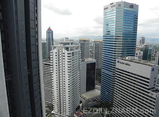 Куала-Лумпур. Место для фотосессии на крыше