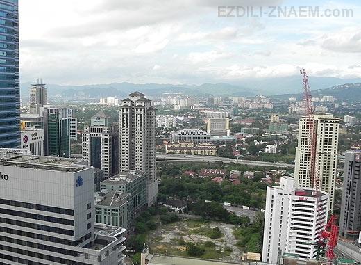 Место для фотосессии на крыше в Куала-Лумпуре
