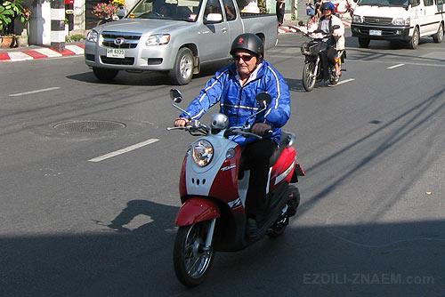 Аренда мотобайка в Тайланде