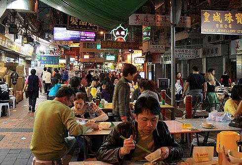 Еда в Гонконге
