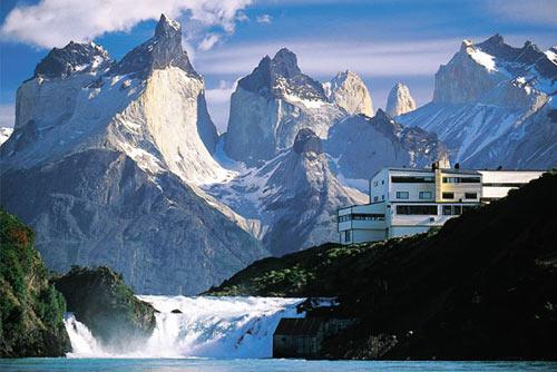 Отели мира с шикарными видами из окна. Отель Santo Chiko в Чили