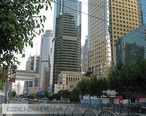 Улицы Шанхая. Пудун