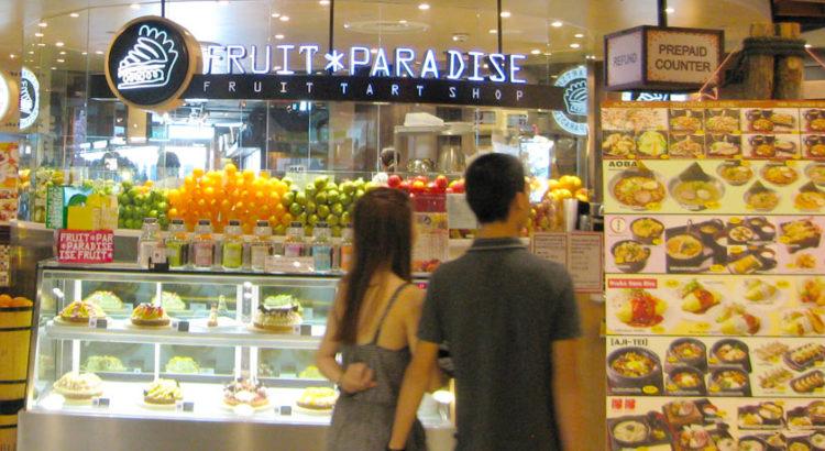 Цены в Сингапуре на еду