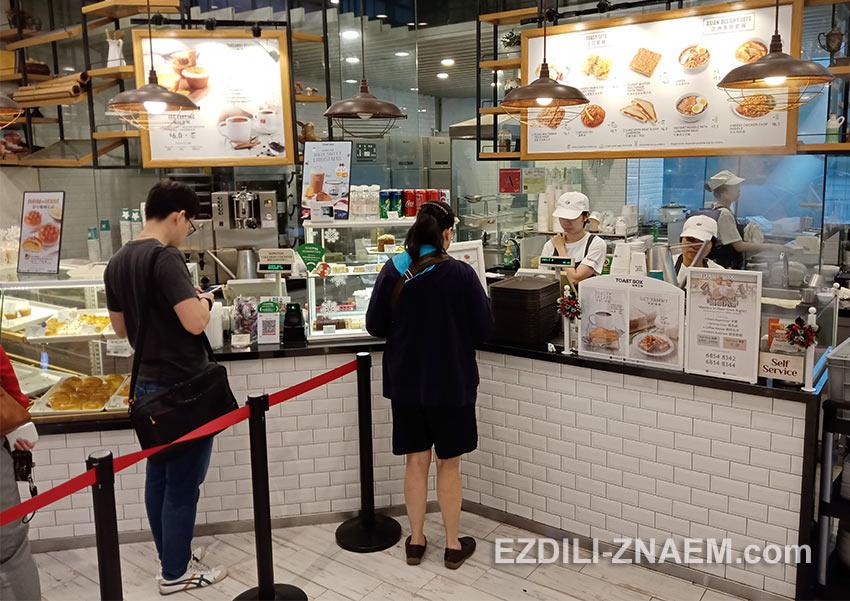 """Недорогие сингапурские кофейни сети """"Toast Box"""""""