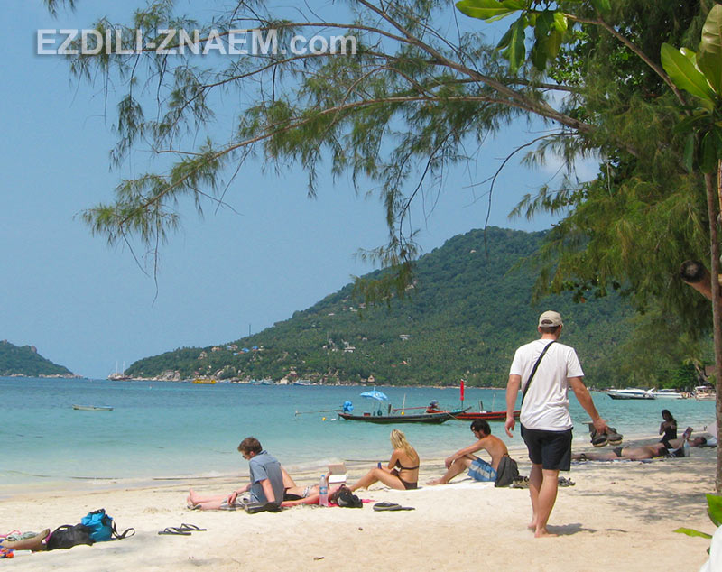 пляжи острова Ко Тао в Тайланде