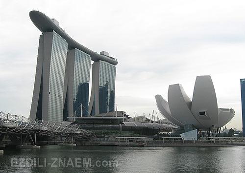 Отель Марина Бэй Сэндс в Сингапуре