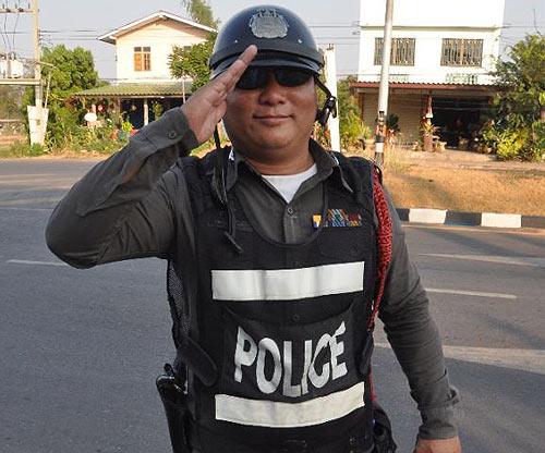 Полиция в Тайланде