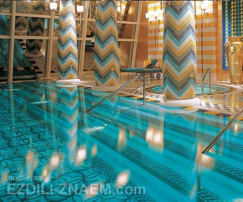 Необычные и красивые бассейны в отелях мира