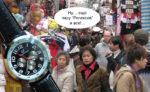 Часы из Китая – забавный подарок из путешествий