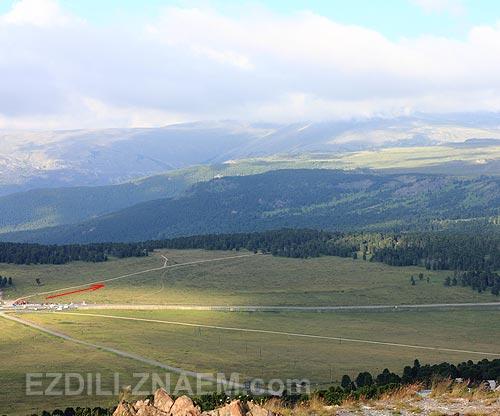 Фото гор Алтая. Вид на Сарлык