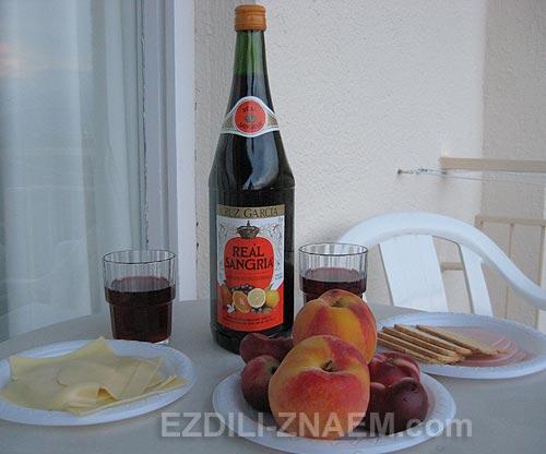 Сангрия - рецепт удачного отдыха в Испании