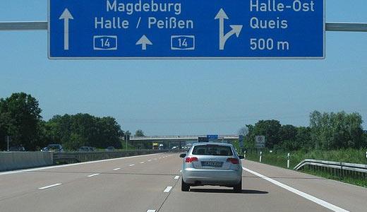 Автобаны Германии.