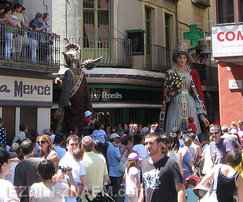 Испания: праздник Гигантов в Олоте