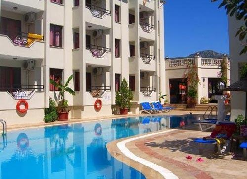 Один из 5 лучших отелей Турции. Отель Evin Club. Мармарис