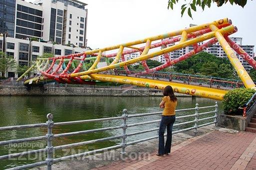 Бананово лимонный Сингапур. Цвет в городе