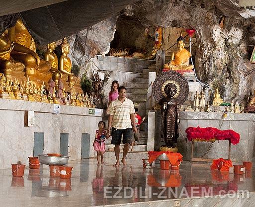 Тайланд. Тигровая Пещера в Краби