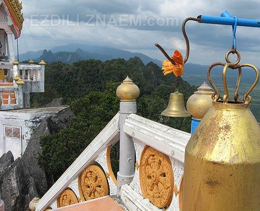 Тайланд. На вершине горы над Тигровой пещерой в Краби