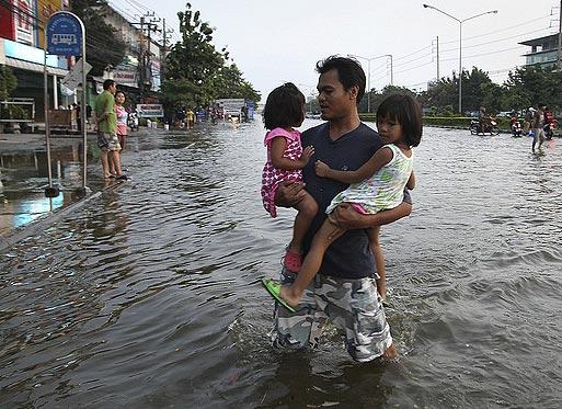 Наводнение в Тайланде 2011. Бангкок в октябре