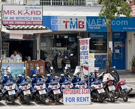 Аренда автомобиля в Краби. Тайланд