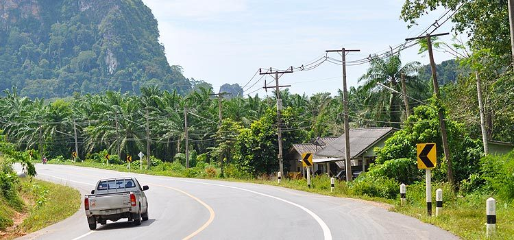 Тайланд: аренда автомобиля в Краби