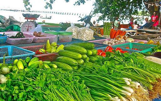 Цены на овощи в Тайланде. Покупать продукты на рынке