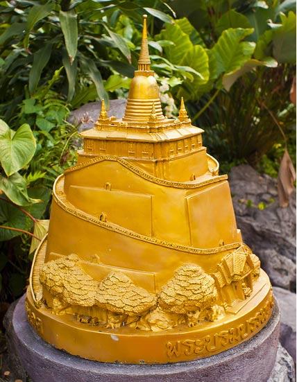 Храмы Бангкока: храм Золотой горы Ват Сакет (Wat Saket)