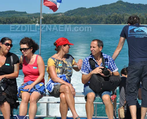 Тайланд: морское путешествие из Ао Нанга на остров Ланта