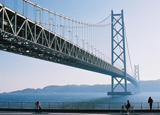 Необычные мосты мира. Мост Акаси-Кайке в Японии