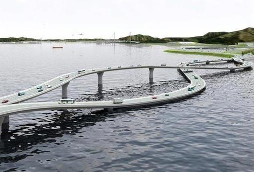 Самые необычные мосты мира. Мост между Гонконгом и Китаем