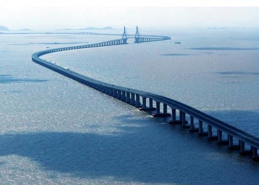 Самые необычные мосты мира. Мост через Ханчжоу. Китай