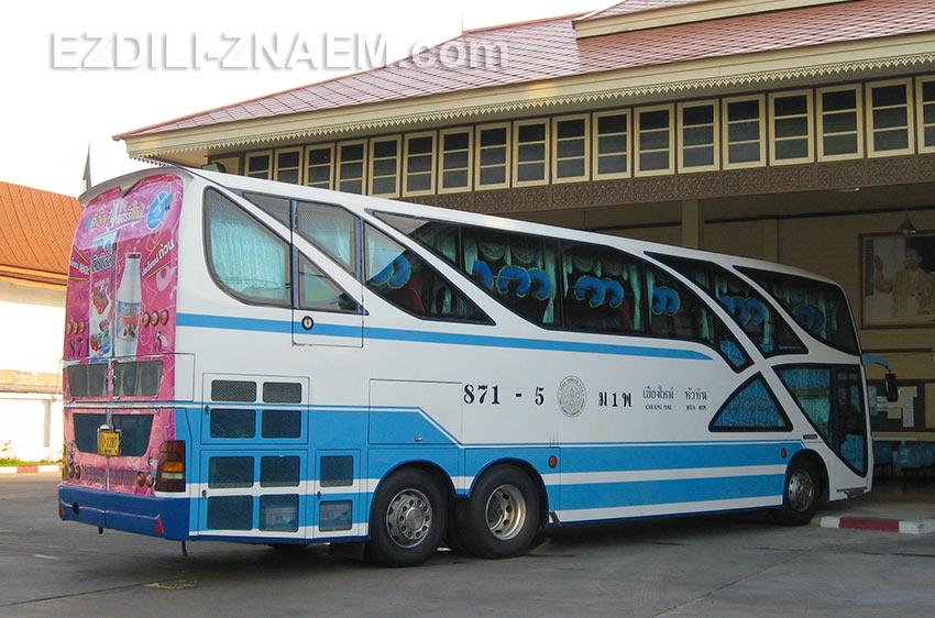 дневной автобус Чиангмай - Хуа Хин