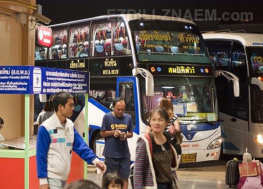 Тайланд: автобус из Чианг Мая в Хуа Хин