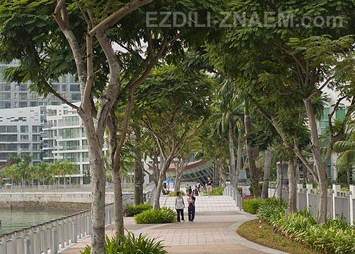 Кеппель Бэй: кондоминиумы миллионеров в Сингапуре. Фото
