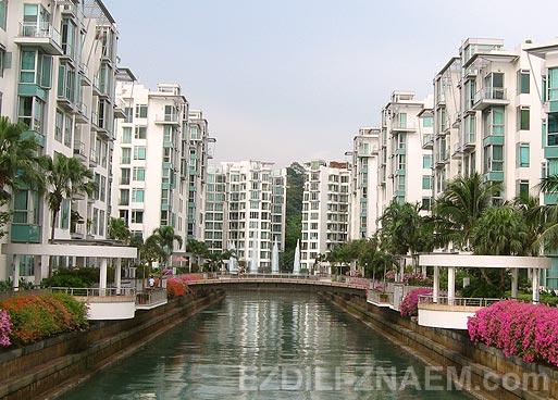 Как живут миллионеры в Кеппель Бэй в Сингапуре