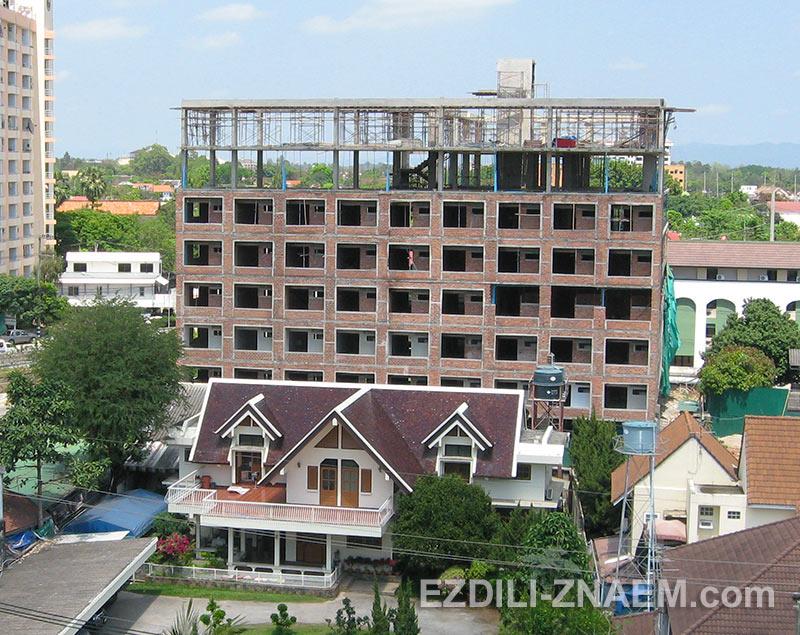 дома и кондо в Тайланде строят каркасным методом