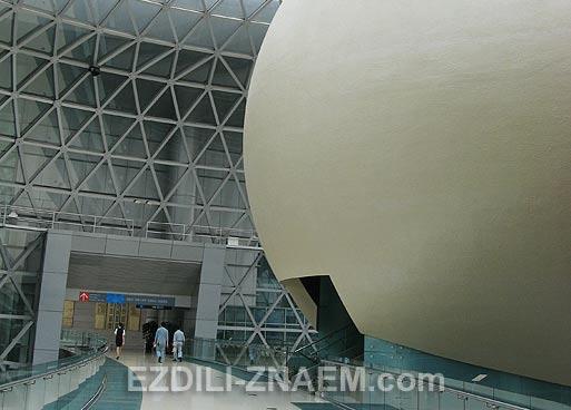 Китай. Музей Науки и Техники в Шанхае
